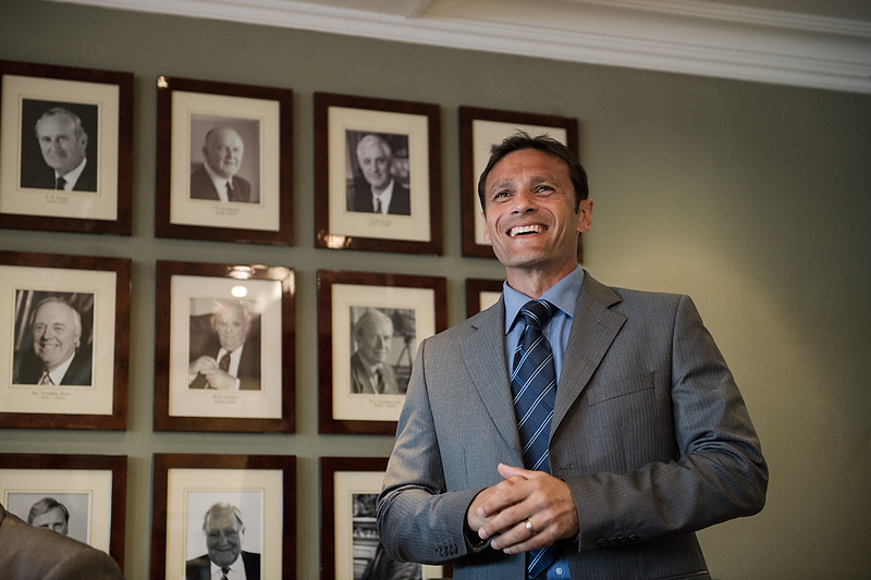 Mark Ramprakash at Lord's Cricket Ground Ashes Dinner & launch of Committee Dining Room