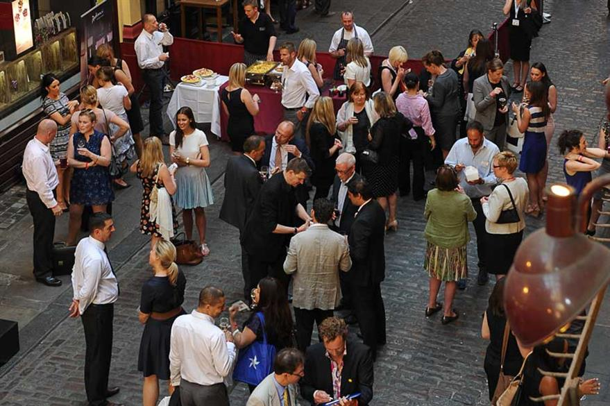The networking reception took place after the QEII Conference Centre hosted the show's Association Conference.