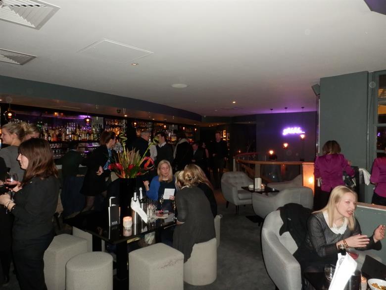 Happy Box London's Ski Collection launch at Hush Bar