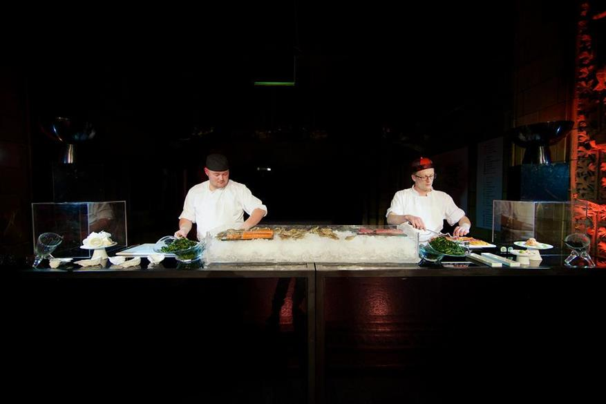 Chefs prepared dishes for 150 event professionals at the Strictly SW7 event on 19 November 2012.