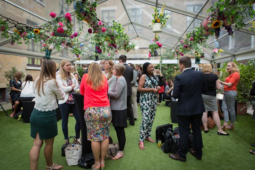 The Brewery's secret garden soiree