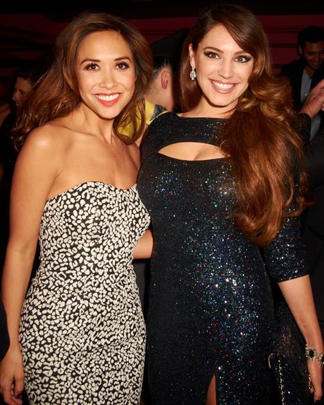 Myleene Klass and Kelly Brook at Steam & Rye, which has a range of events spaces