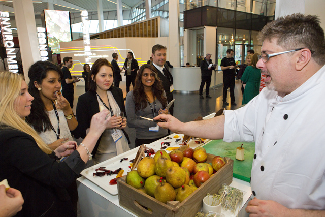 The Sustainable Events Summit, held yesterday at The Crystal, Siemens' centre for sustainability in East London.