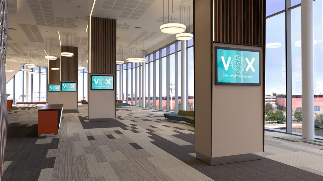 Resort World Birmingham's Vox Conference Centre