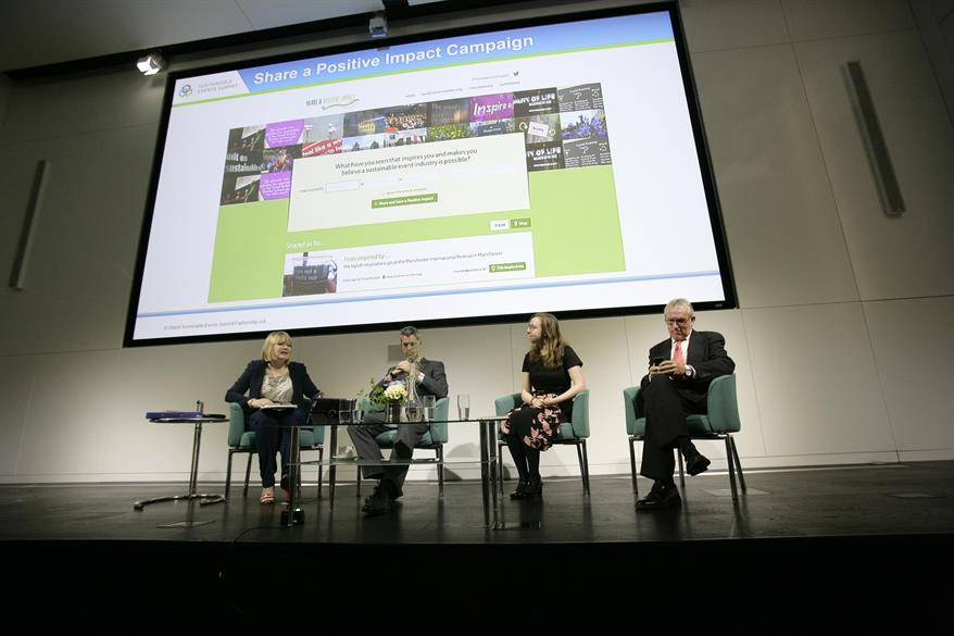 The Sustainable Events Summit took place at 30 Euston Square in London