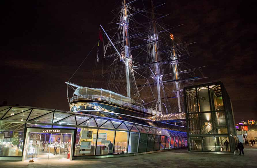 The Cutty Sark hosted the Harbour & Jones 1000th event celebration party