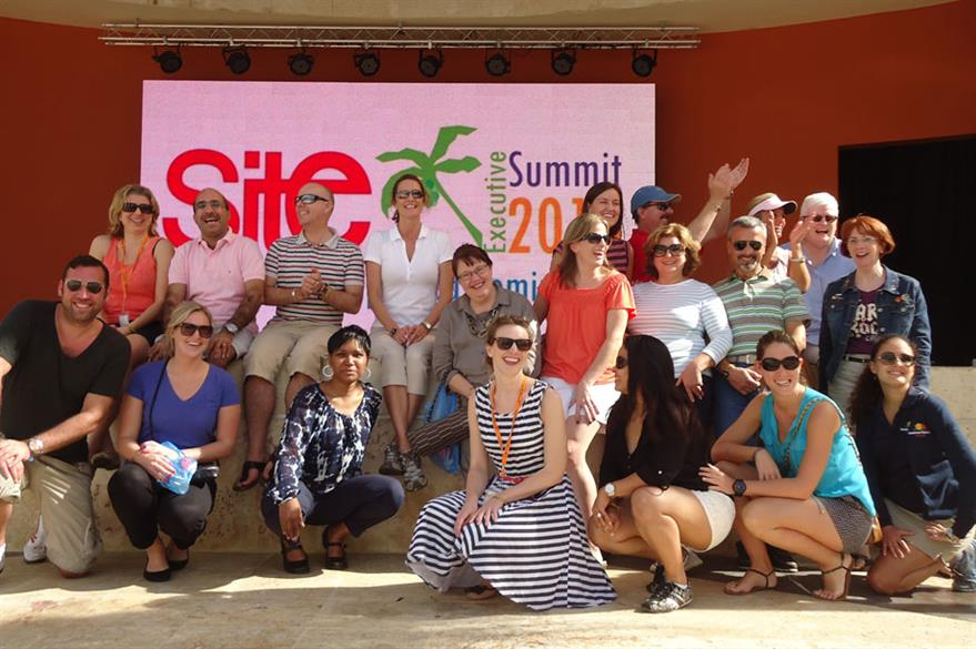 Delegates at the Site Summit visit the new Breathless Punta Cana Resort & Spa, which opened in December 2013
