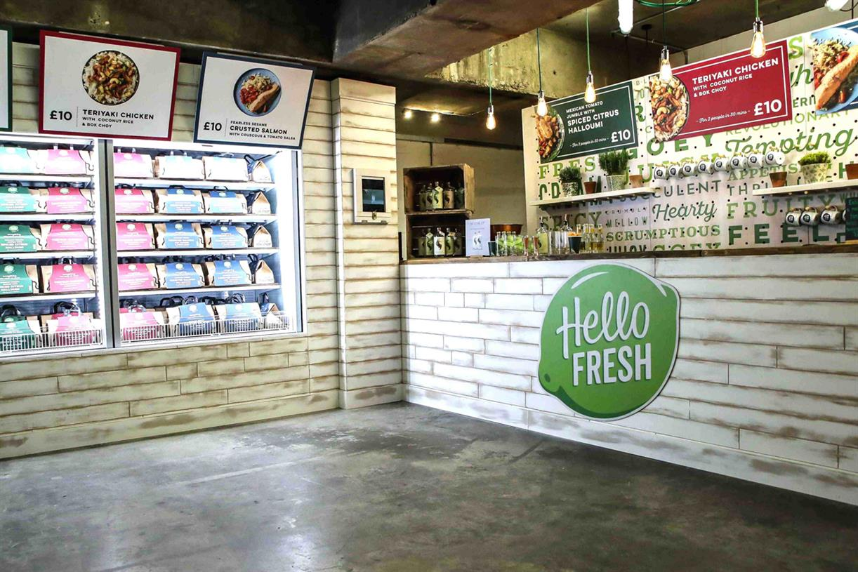 Hello Fresh Launches Pop Up Store Designed By Hot Pickle