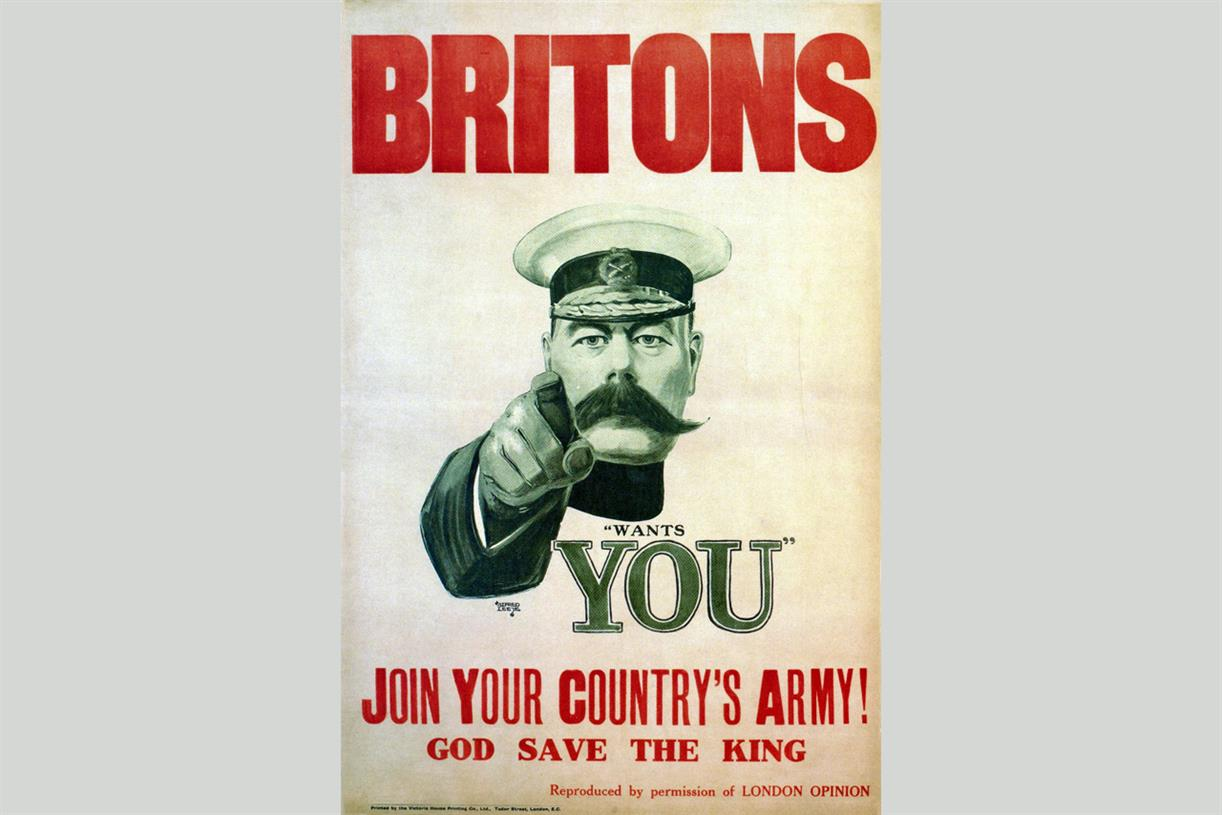 History of Advertising No 91: Lord Kitchener\'s recruiting poster