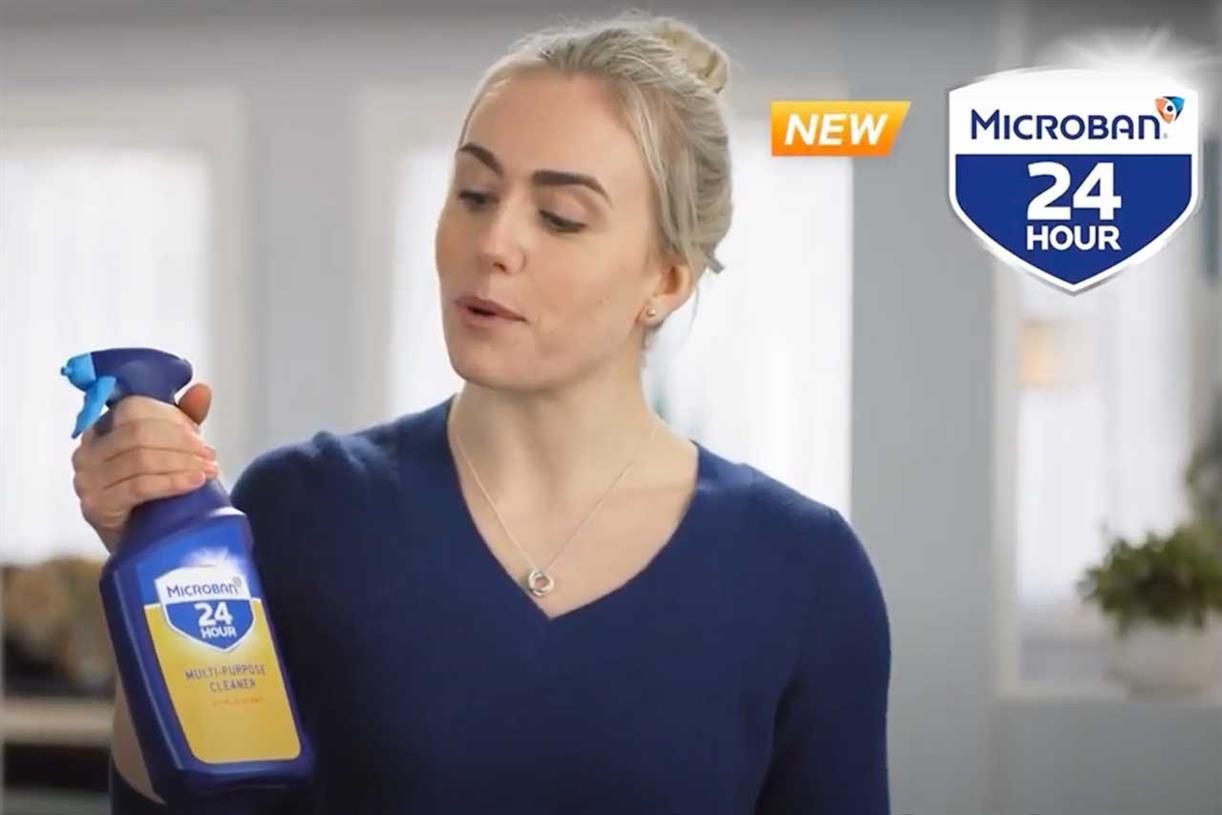 P&G sends disinfectant brand across the Atlantic