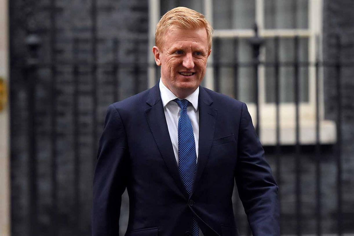 Oliver Dowden named culture secretary