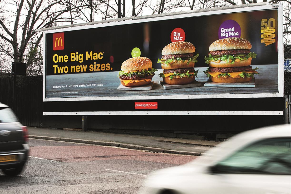 McDonald's 'Big Mac' makes a big impression