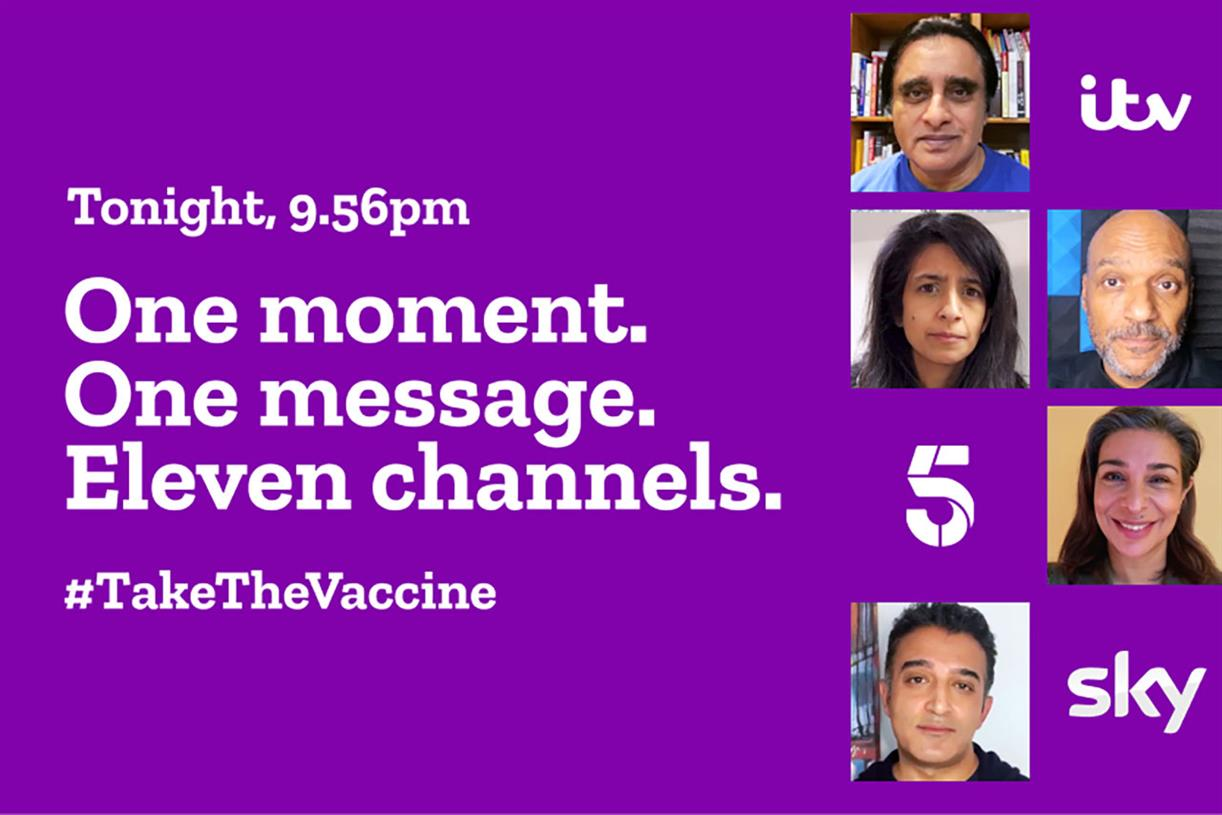 How BAME groups took grassroots #TakeTheVaccine campaign to national TV and what adland can learn