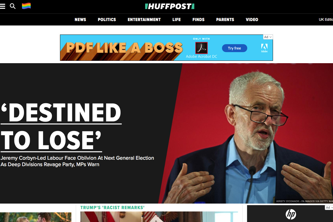 HuffPost Offers Free Advertising Disguised as News and