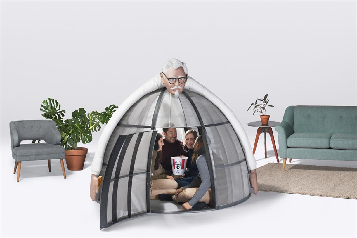KFC\'s latest wacky product is a $10,000 internet escape pod