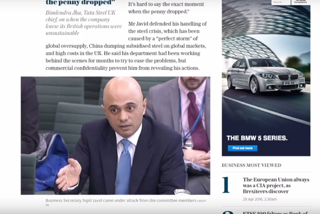 Telegraph Launches Display Ads With Guaranteed 10 Second