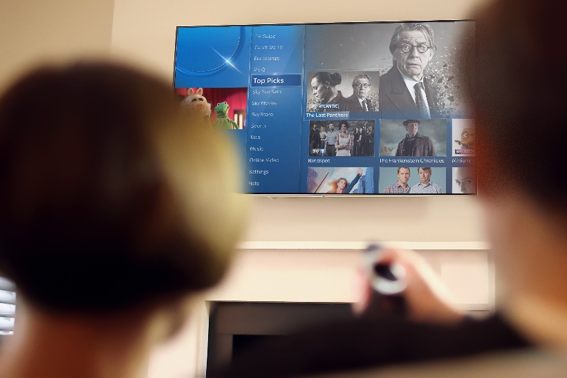 Sky guns for Netflix and Apple TV with Sky Q set-top box
