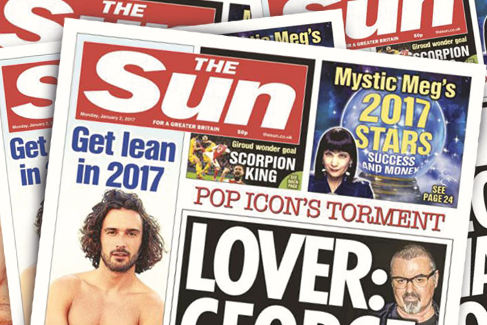 The Sun Overtakes Mirror To Be Second Biggest Uk Newspaper -3407
