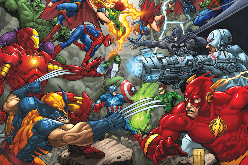 Marvel vs  DC: May the best names win! | Campaign US