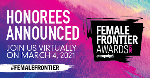 Debby Reiner | Female Frontier Awards | Campaign US