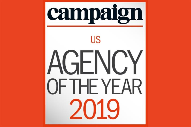 Campaign US Agency of the Year 2019 shortlisters
