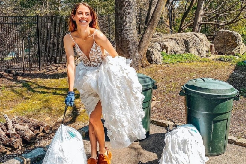 People are dressing up to take out trash because we