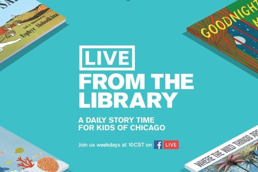 Chicago Public Library and FCB join forces to launch live storytime