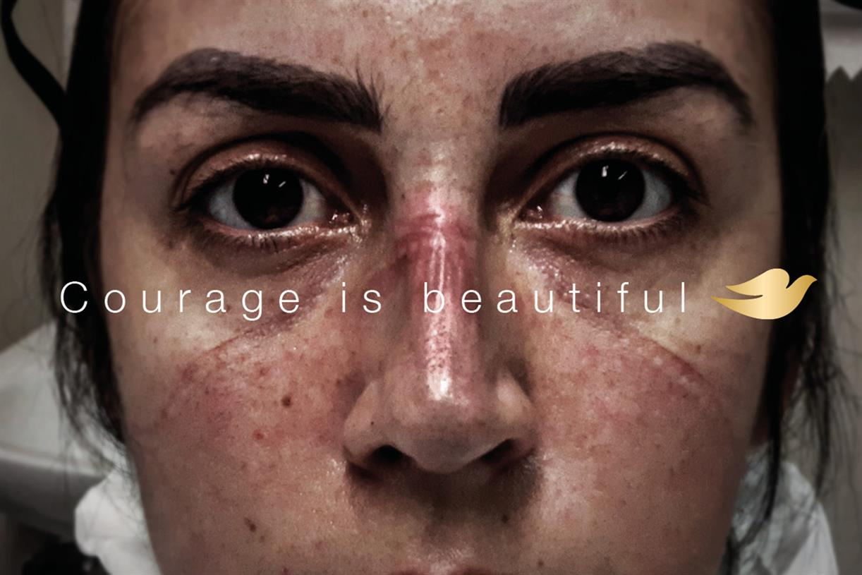 """Dove """"Courage is beautiful"""" by Ogilvy 