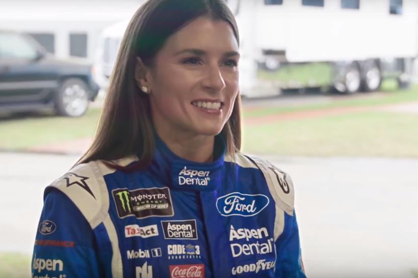 NASCAR driver Danica Patrick pitches Aspen Dental, just not