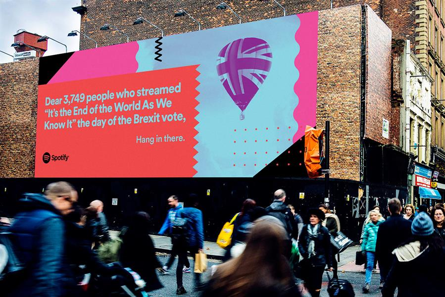 Spotify 2016 Marketing Campaign Good Content Markeitng Examples