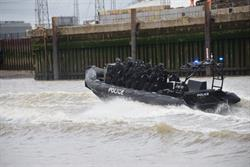 Met tests readiness of both police and comms in dramatic anti-terror exercise on the Thames