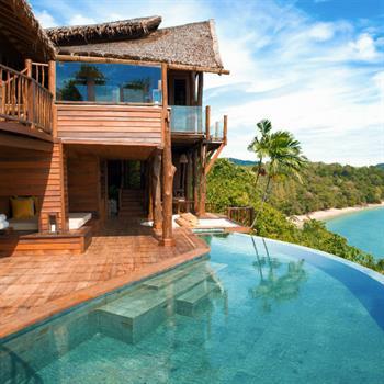 Hotel designers lay on the luxury