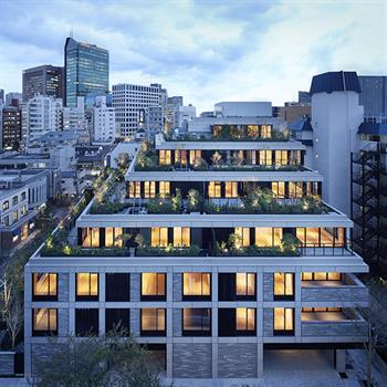 Key residential scheme in Tokyo completed by Conran and Partners