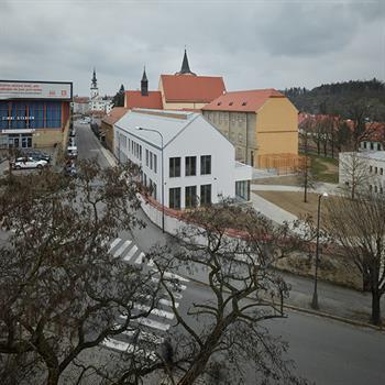 Extension to Třebíč gymnasium adds to monastery history