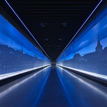The Time Corridor exhibition: Europe's largest continuous projection