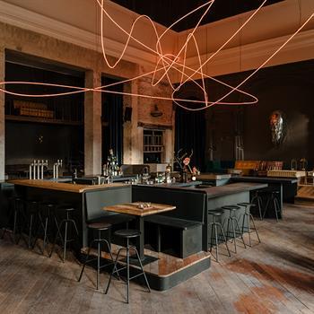 Berlin's new bar and restaurant bridges art with experimental gastronomy