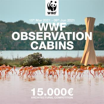 Young Architects Competition collaborates to launch WWF Observation Cabins