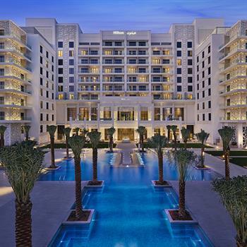 Pascall+Watson's Hilton Abu Dhabi Yas Island opens to the public