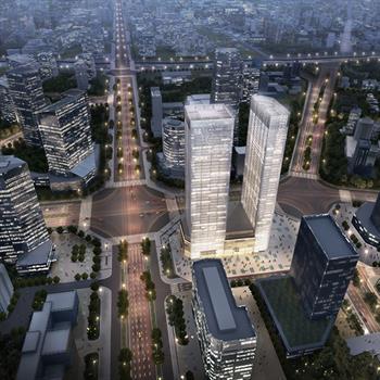 Little of Italy in big China: Studio Marco Piva's Tonino Lamborghini Towers