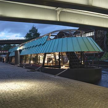 Adam Richards Architects uses nautical design for London turophile restaurant