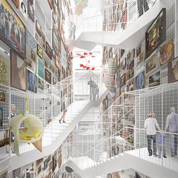 World's first publicly accessible art depot