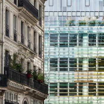 Protected Parisian building preserved by its updated purpose reopens to the public