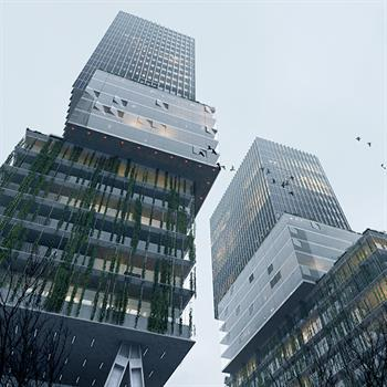 Competition winners OMA Together and Being Development to redevelop central Eindhoven's VDMA