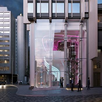 Southbank Tower partners with Zaha Hadid Architects to transform the tower's lobby