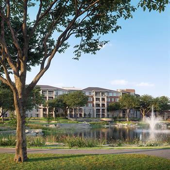 Architecture firm, three, designs three senior residential communities across the US