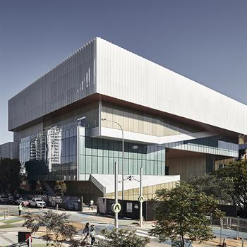 Design team duo Hassell and OMA complete Western Australia's New Museum milestone