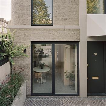 Corner House: a contemporary interpretation of the Victorian suburban townhouse