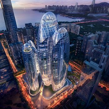 Tetrad of towers: interconnecting design reflects Chinese headquarter's character