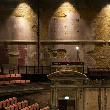 Restored theatre opens after 80 years