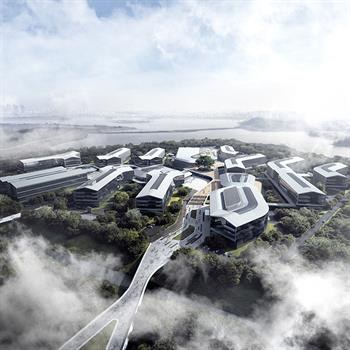 Bodhi leaf inspires Aedas's design for Hangzhou' Alibaba DAMO Academy HQ